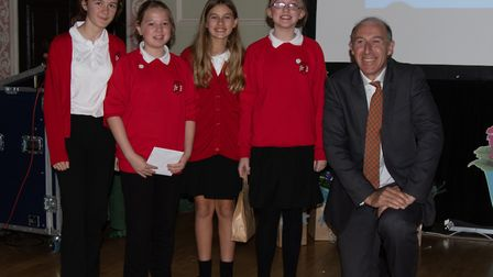 Westley School picked up an award for their '100 Origami Poppies' Picture: JO SWEETMAN