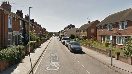 The incident happened on Cemetery Road, near Christchurch Park in Ipswich Picture: GOOGLE MAPS