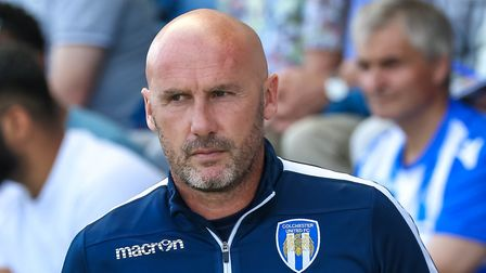 John McGreal, hoping his U's side can make it three league wins on the bounce at Grimsby Town tonigh