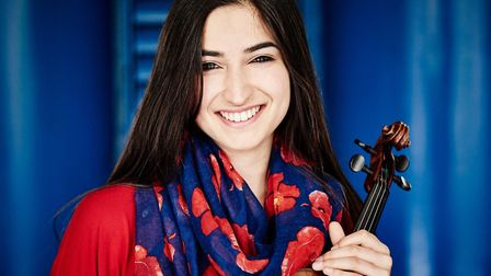 Savitri Grier, 26, will perform in Bury St Edmunds on October 27 Picture: KAUPO KIKKAS