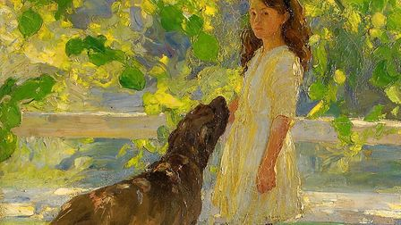 One of the artworks in the forthcoming exhibition – Lime Tree Shade by Amy K Browning (1913). Pictur