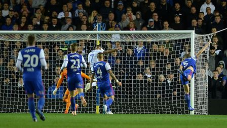 Kemar Roofe opens the scoring for Leeds Picture Pagepix