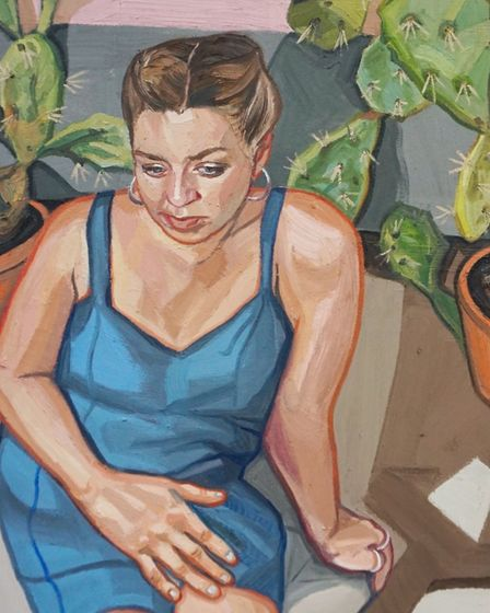 Ania Hobson is staging her first Suffolk show since becoming the BP Young Portrait Artist of the Yea
