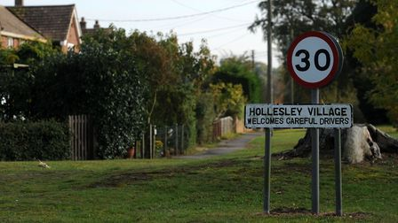 Those travelling to Hollesley in the next few weeks may have to take a 17 mile diversion Picture: SI