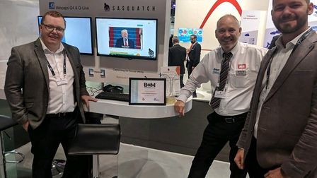 IJYI and Screen Systems teamed up to present a new web publishing app at the IBC technical trade sho