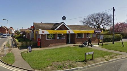 The first post office to be hit was Premier Stores in Shotley Picture: GOOGLE MAPS