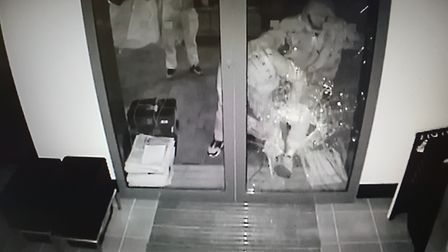 Would-be thieves targeted the Budgens store in Great Blakenham Picture: DANIEL PONT
