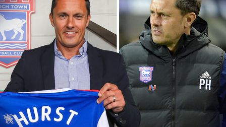 Paul Hurst has been sacked by Ipswich Town after 148 days in charge. Picture: ARCHANT