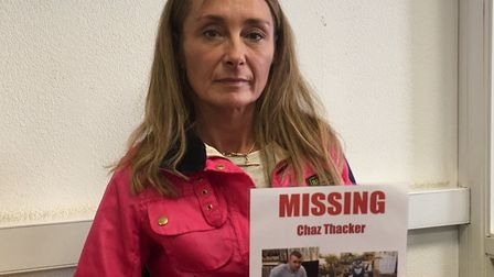 """Marie Thacker, mum of missing Cockfield 26-year-old Chaz Thacker, said she going through a """"rollerco"""
