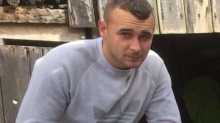 Missing Cockfield man Chaz Thacker has been found in London Picture: SUFFOLK POLICE