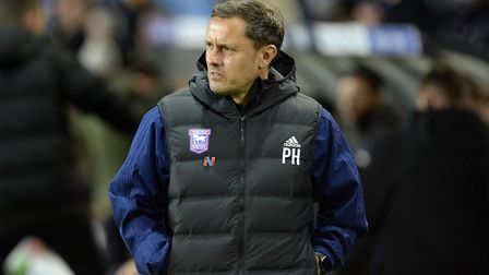 Paul Hurst has been sacked as Ipswich Towwn manager. Picture: Pagepix