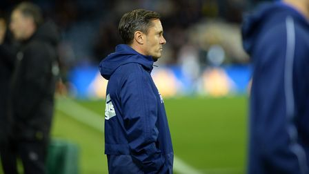 Paul Hurst only won one game in his time at Ipswich Town. Picture: Pagepix