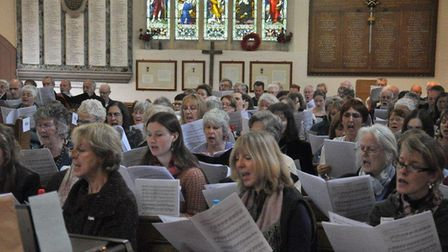A previous Suffolk Singers workshop Picture: SUFFOLK SINGERS