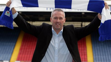 Paul Lambert, pictured during his time at Blackburn Rovers, is the new boss of Ipswich Town. Photo: