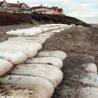 Protecting the coastline at Thorpeness