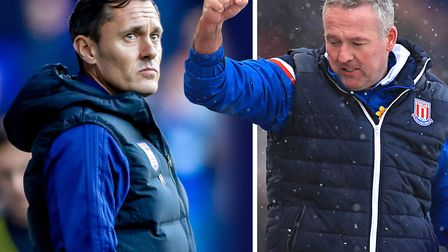 Paul Hurst was sacked as Ipswich Town manager today and Paul Lambert is set to replace him. Picture: