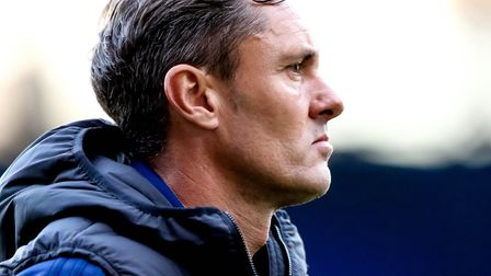 Paul Hurst was sacked as Ipswich Town manager yesterday. Photo: Steve Waller