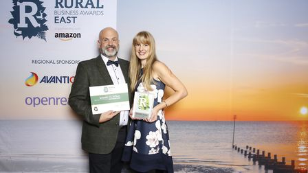Best Rural Food Business winner The Artisan Smokehouse's Tim and Gill Matthews Picture: DARE & HIER