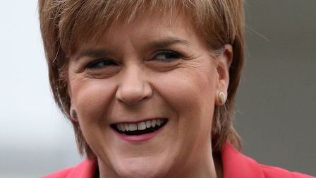 Nicola Sturgeon told SNP delegates at the party's conference in Glasgow recently that its goals of S