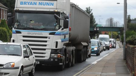 Wherstead Road will be closed to allow the abnormal loads to pass Picture: LUCY TAYLOR