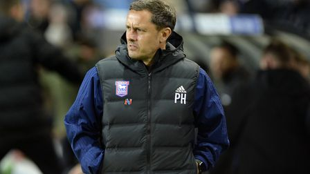 Paul Hurst used 27 players in his very brief stint as Town boss - most in the league. Photo: Pagepix