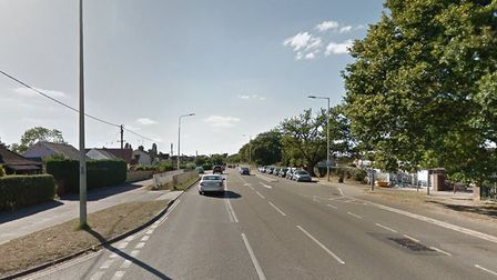 Foxhall Road is currently shut in both directions between Dobbs Lane and Bell Lane Picture: GOOGLE M