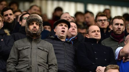 Terry Hunt feels sorry for the fans who made the trip to Millwall to watch a miserable defeat. Pictu