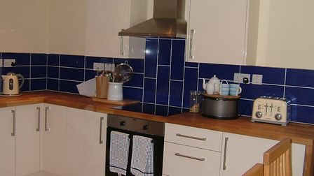 The kitchen of the property in Friston, available to rent from Jennie Jones. Picture: JENNIE JONES