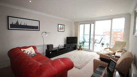 This flat in Capstan House, Ipswich, is available to rent for £895 per month. Picture: NICHOLAS ESTA
