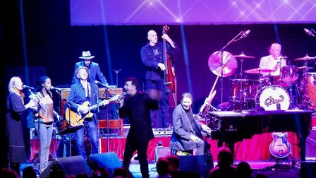 Marc Almond, appearing as a special guest with Jools Holland at the Ipswich Regent Picture: NIGEL P