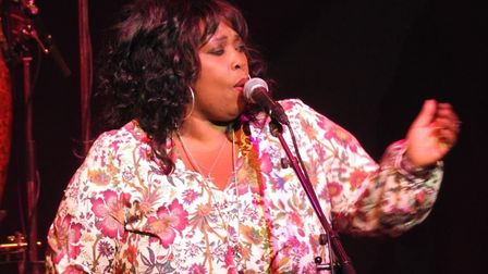 Ruby Turner performs with Jools Holland at the Ipswich Regent Picture: NIGEL PICKOVER