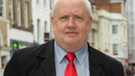 Cllr Mike Lilley called for tougher sentences for those carrying knives after the attack Picture: C