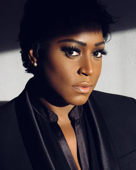 Mica Paris plays straight talking teacher Miss Sherman in Fame - The Musical at the Ipswich Regent P