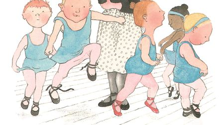 Part of one of Helen's illustrations from The Dancing Class, Walker, 1983 Picture: COURTESY WALKER B