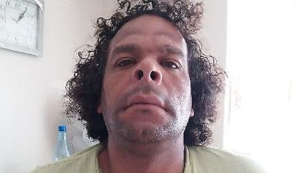 Barry Caruth, 46, was last seen yesterday Piture: ESSEX POLICE