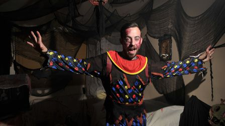 Hundreds of people come from far and wide to visit Lorrie Thackeray's Haunted House of Horrors Pict