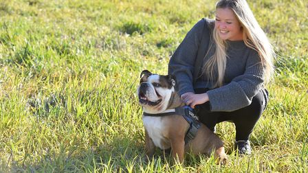 Nethergate Brewery based in Long Melford link up with a bulldog rehoming charity with the aim of rai