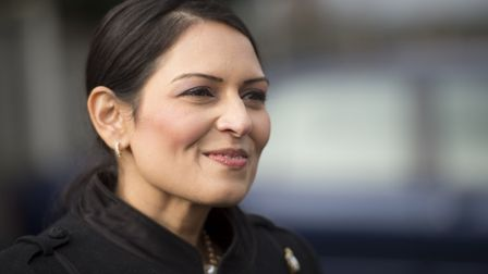 Witham MP Priti Patel dropped from 3rd to 4th place this year Picture: DAVID MIRZEOF/PA WIRE