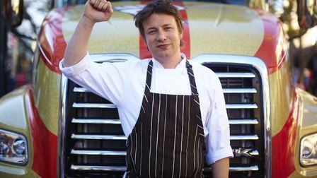 TV chef Jamie Oliver failed to make the cut for the second year running Picture: DAVID LOFTUS