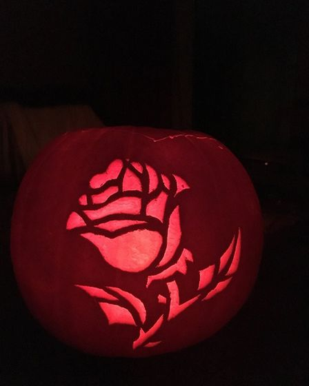 Pumkin sent in by Rose Ling. Picture: ROSE LING