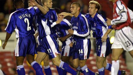 On this day in 2000, Town knocked Arsenal out of the Worthington Cup