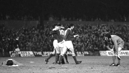 On this day in 1974, Town beat Liverpool at Portman Road