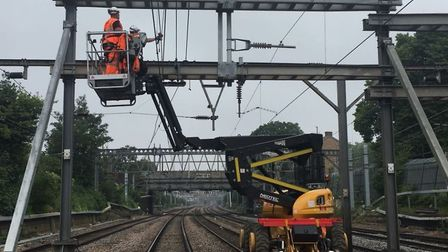 Network Rail will be closing the line to London for 10 days over Christmas and the New Year. Picture