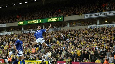 It was on this day in 2007, Town drew 2-2 with Norwich at Carrow Road