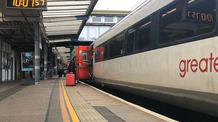 Greater Anglia has apologised for 'extensive disruption' last week Picture: ARCHANT