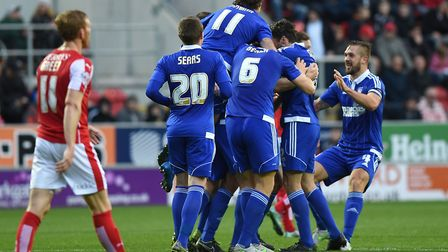 On this day in 2015, Town put five past Rotherham