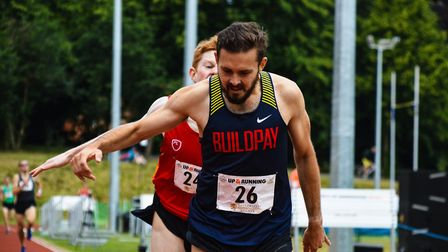 Kieran Clements, who finished second Briton at the last weekend's IAAF Cross Country Permit Series r