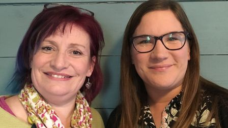 Lisa Barrell and Kate Mason Picture: STARS OF SUFFOLK