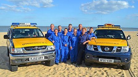 HM Coastguard Lowestoft Southwold are nominated for an award Picture: STARS OF SUFFOLK