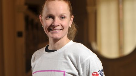 Inge Nijkamp, also one of the ambassadors of the 'This Girl Can' campaign. Picture: SARAH LUCY BROW